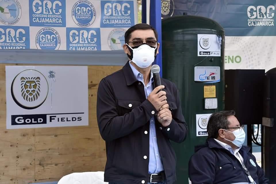 Gold Fields entrega planta de oxígeno medicinal a la provincia de Hualgayoc