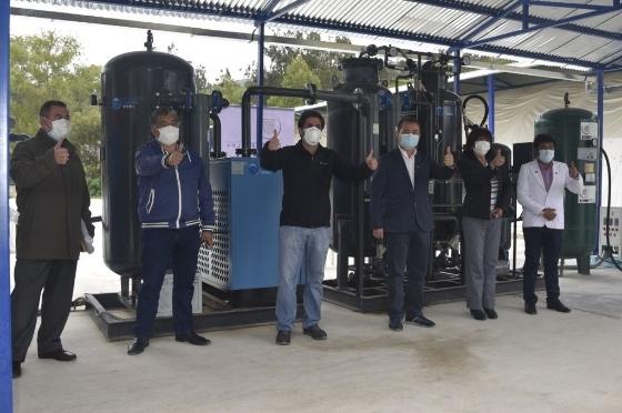 Planta de Oxígeno Medicinal donado por Gold Fields comenzó a operar en Bambamarca