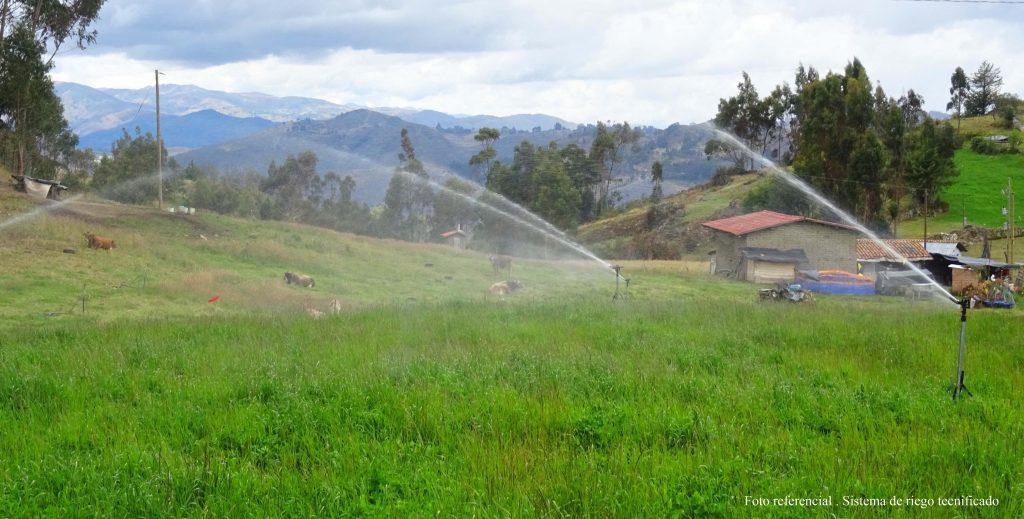 Aprueban expediente técnico para riego tecnificado en Huambocancha Chica y Tual