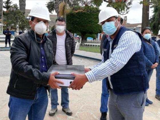 Inicia reconstrucción de pistas y veredas en más de 30 cuadras de la ciudad de Celendín