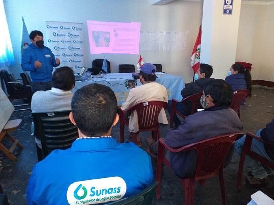SUNASS sensibiliza en el uso de agua de calidad para evitar enfermedades