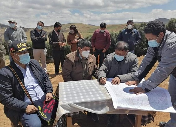 Municipalidades de Hualgayoc y San Miguel suscriben acuerdos de límites territoriales